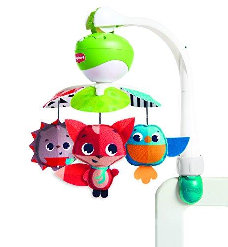 Tiny Love Take Along Mobile - Musikmobile für unterwegs, Baby-Spielzeug ab der Geburt (0M +), Babyschale & Kinderwagen