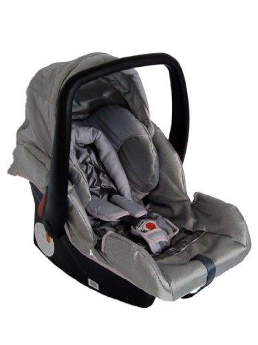 Babyschale Protect von UNITED-KIDS, Darkgrey, Gruppe 0+, 0-13 kg