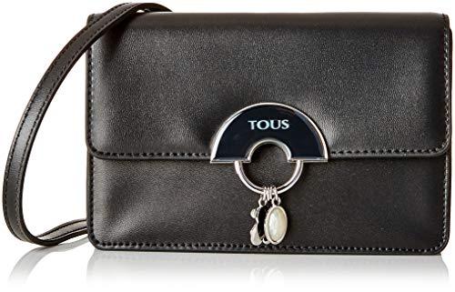 Tous Damen Hold Business Tasche, Schwarz (Negro 995890572), 20x13x6 Centimeters (Tasche Tous)