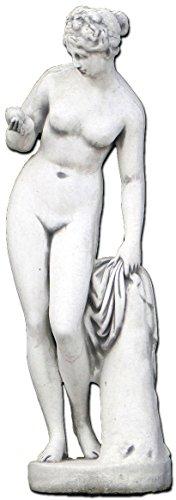 gartendekoparadies.de Herrliche Statue Venus von Canova mit Apfel aus Steinguss, frostfest