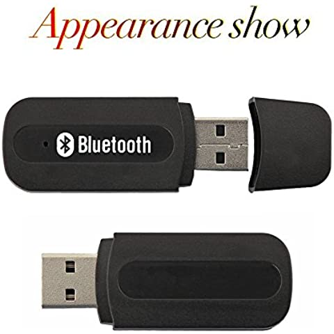 Bluetooth Audio Receiver Adapter,Urant Brand Upgraded Version Generic Stereo 3.5mm AUX Dongle Car Handsfree Portable Mini USB Wireless Bluetooth Music Audio