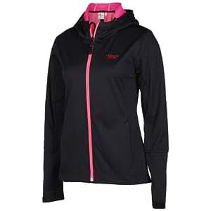 Chiemsee Grazia 1060604 Damen Softshell Jacke, 1060604, Black, Gr. XS