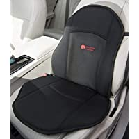Posture Cushion Seat Softener Comfort Cushion. Great For Modern Harder Car Seats. Prevent The Pain And Stiffness In Your Legs And Back When Sitting In The Car Home And Office. Available With Black Breathable Cover Anti Slip Base.
