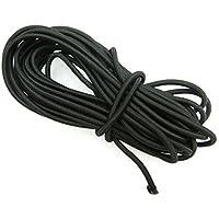 Cuerda elástica de 5 metros de largo y 3 mm de diámetro, ...