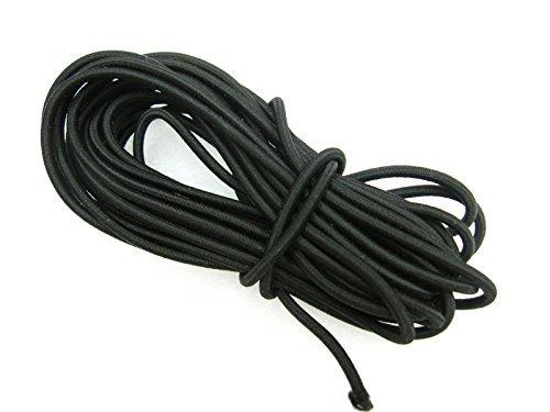 Cuerda elástica 5 metros largo 3 mm diámetro, color