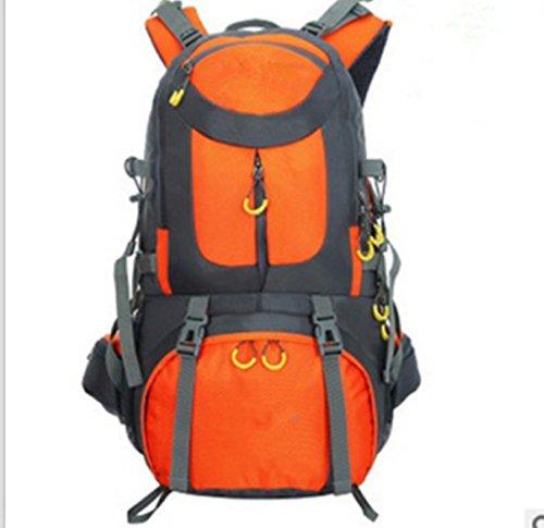 LWJgsa Sport Ihre Taschen Wandern Zelten Taschen Männer Und Frauen Großer Reiten Rucksack Orange