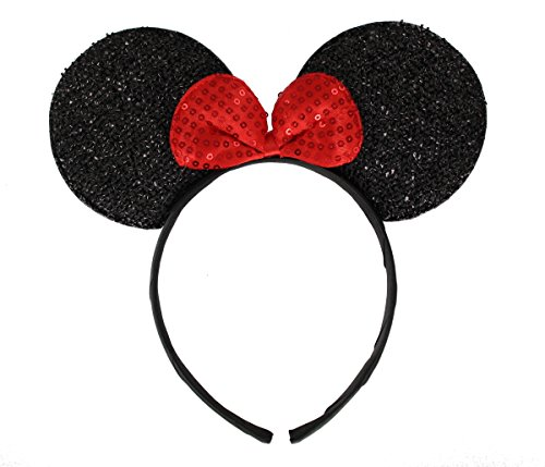 ith Bow on Headband/ Aliceband.Hair Accessory-Black ()