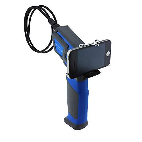 THINKMIC Endoskopkamera,Wasserdichte Inspektionskamera, Wireless, USB-Endoskop, Durchmesser,Potensic Semi-Rigid, 6 einstellbare LEDs, 0,45 Megapixel HD,