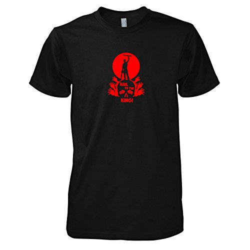 TEXLAB - Hail to the King - Herren T-Shirt Schwarz