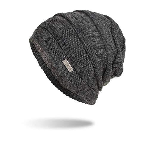 Kostüm Braunen Bart Kurzen - JMETRIC Unisex Mütze |Winddichte Mütze |Beanie Mütze |Winter Beanie Mütze |Strickmützen|Gestrickt Verdicken Wintermütze