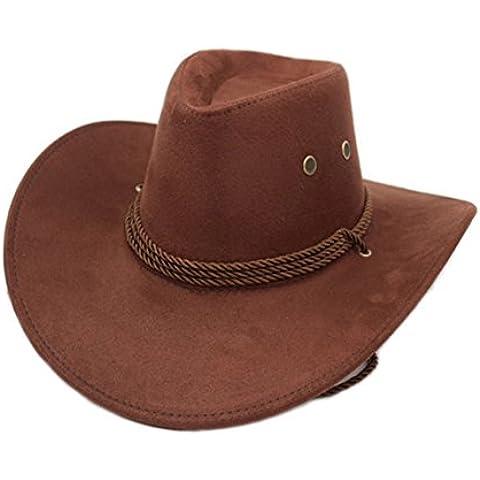 Cappelli outdoor estate/cappello da cowboy/ cappello di jazz Maschio e femmina/ cap Equestre/Visiera/Cappello di paglia/Cappelli di spiaggia grande