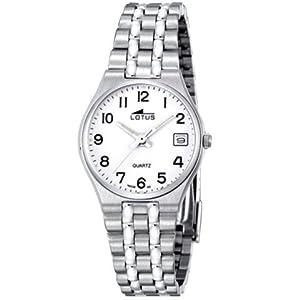 Lotus Classic 15032/2 Reloj AnalÓgico Acero Para Mujer Nuevo Garantia 2 AÑos
