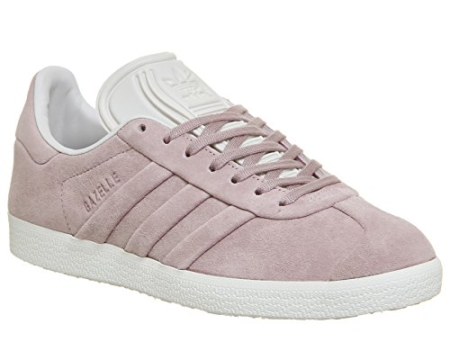 adidas Gazelle Stitch and Turn, Sneakers Basses Femme Rose (Wonder Pink F10/wonder Pink F10/ftwr White)