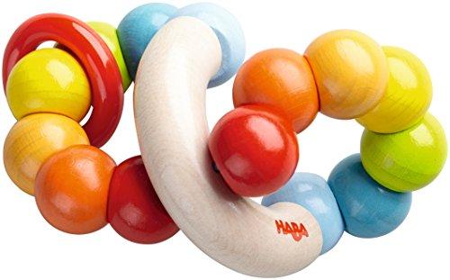 HABA 5294 Greifling Farbenringel, Kleinkindspielzeug