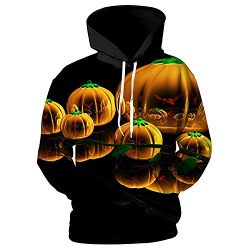 3D Hoodies Männer Mit Kapuze Hoodies Halloween Sweatshirts kin Print Cool 3D Hoody Plus Size Streetwear Photo Color XXL ()