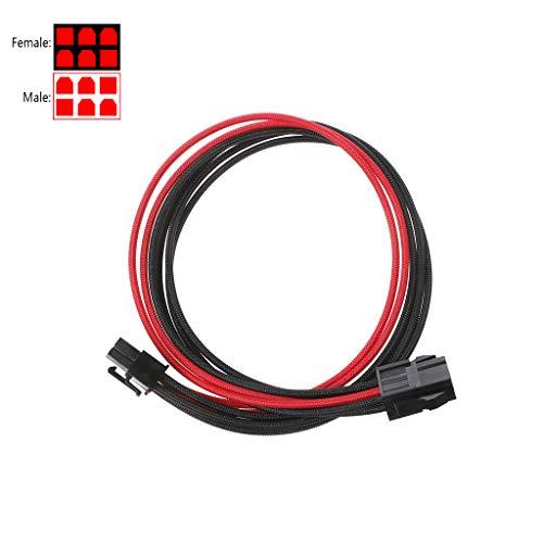 Anjuley GPIE - Cable alargador alimentación GPU 6