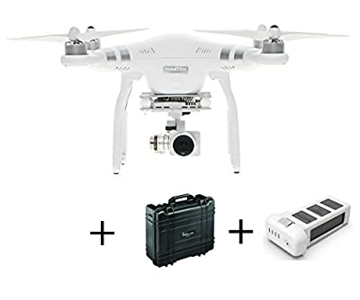 DJI Phantom 3 Advanced With Extra Battery (2 In Total) With B&W Hard Case Including Laser Cut Foam