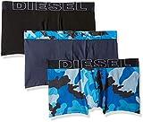 Diesel Herren Boxershorts UMBX-DAMIENTHREEPACK, 3er Pack, Mehrfarbig (Blue E4072), Large
