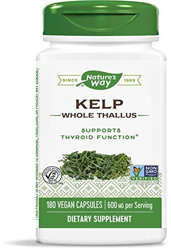 Natures WayWay, Kelp, 600 Mg, 180 Capsules