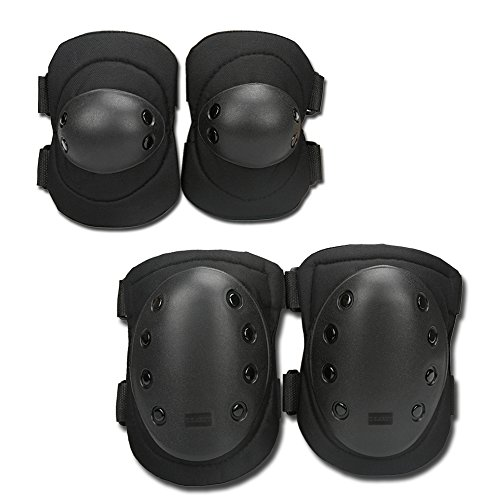 uzexon-adult-youth-4pcs-knee-elbow-pads-guards-protective-gear-sets-for-inline-roller-skating-biking