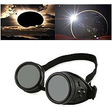 6e3d3d6aa505d2 lzndeal Lunettes Punk eclipse Lunettes d éclaire solaire Lunettes de  protection contre les nuances 14