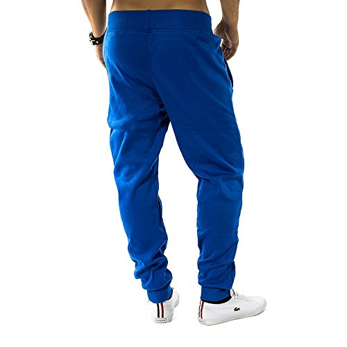 Herren Jogging Hose Fit & Home Sweat Pant Sporthose H1128 Blau