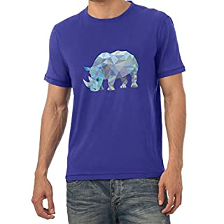 Texlab Poly Rhino - Herren T-Shirt, Größe M, Marine