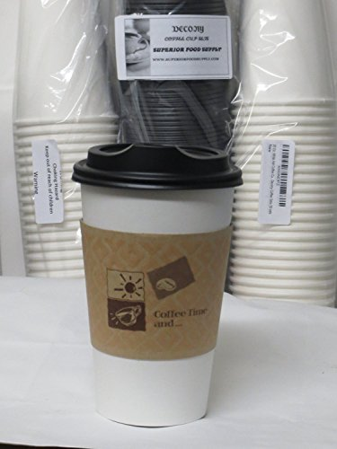 16-oz-white-hot-paper-coffee-cup-with-lid-ans-sleeves-100-set-10-plastic-clip-on-handles-by-decony