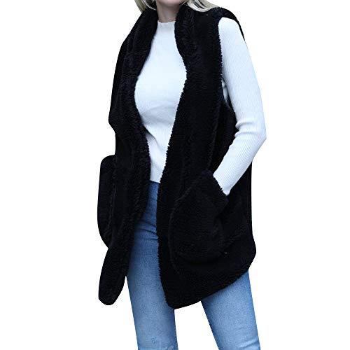 74630892093e04 LILICAT_Bekleidung Lilicat Frauen Cardigan Mode Weste Herbst Winter  Strickjacke Elegant Jacke Pullover Faux Wildleder Ethnisch Ärmellos Quasten  Fransen ...