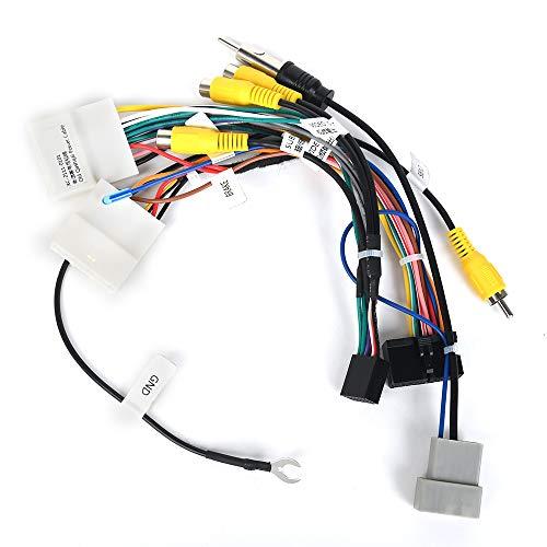 Dasaita Cable de Radio de Cocheo pour Nissan Qashqai J10 2008 a 2014 Soporte USB AUX Amplificador Bose Cámara 360 (Solo Apto para Radio Dasaita)