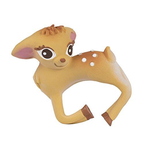Oli & Carol Nelly das Bambi, Reh, Beissring aus 100% Natur-Kautschuk Natur Rehe