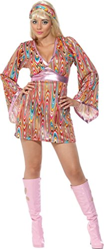 SMIFFYS Smiffy's - Costume da hippy Donna, M