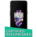 (Certified Refurbished) OnePlus 5 (Slate Grey, 6GB RAM, 64GB Storage)