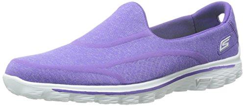 Skechers Gowalk 2 Supersock, Baskets mode femme Violet (Pur)
