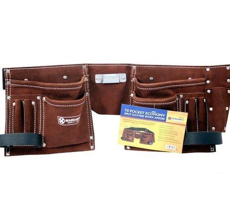 10-pocket-double-split-suede-leather-tool-pouch-builders-bag-belt-storage-pouche