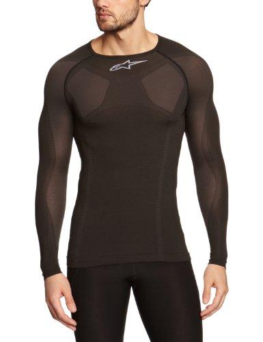 Alpinestars MTB Tech Top Long Sleeve Underwear, Herren, schwarz, 2/3X-Large (Alpinestars Long Sleeve Shirt)