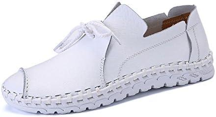 Zapatos para Hombres Zapatos Cómodos De Cuero Costuras Hechas A Mano Zapatos Casuales Zapatos De Cuero