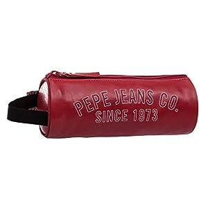 Pepe Jeans Estuche, Diseño Casual, Color Rojo, 1.78 litros