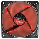 Spire Redstar 120sp12025s1l4-r-pwm PWM Ventilateur de refroidissement, 12V DC, Noir