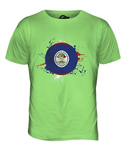 CandyMix Belize Fußball Herren T Shirt Limettengrün