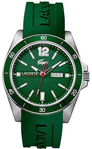 Lacoste 2010800 - Orologio da polso Uomo, Silicone, colore: Verde