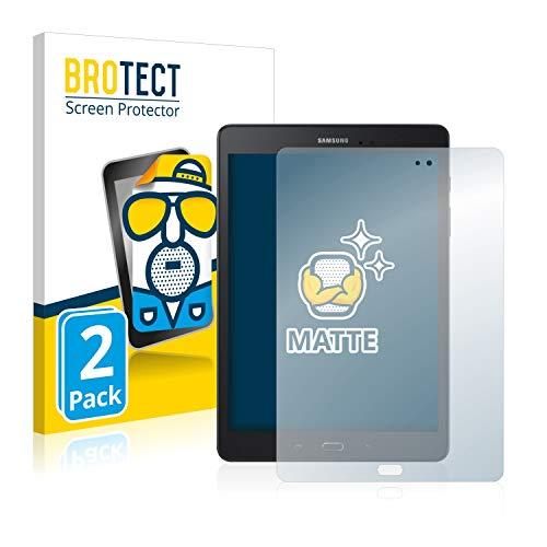 BROTECT Entspiegelungs-Schutzfolie kompatibel mit Samsung Galaxy Tab A 9.7 SM-T550 (2 Stück) - Anti-Reflex, Matt