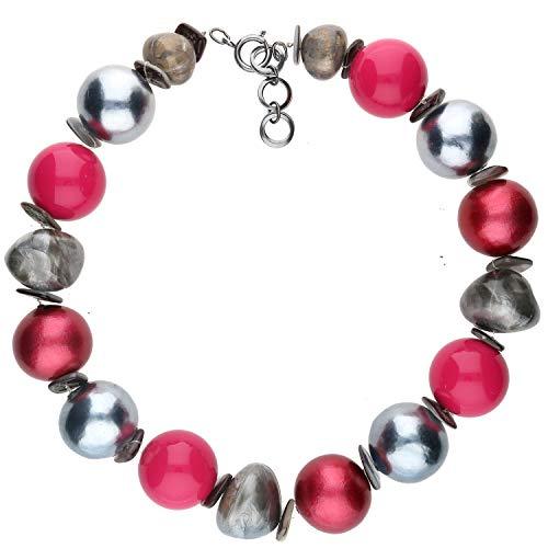 langani Halskette Viventi Damen-Kette schwarzen Perle Handmade Since 1952 12