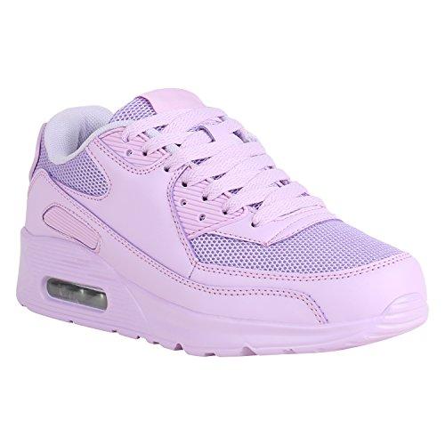 b7bafc27c6199c Damen Schuhe Laufschuhe Viele Farben Größen Sportschuhe Turnschuhe 157196  Lila 39 Flandell