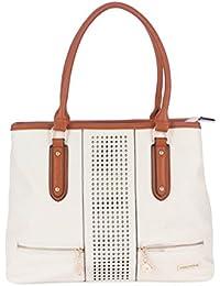 Fur Jaden Women's Handbag(White,H217_White)