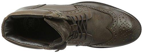 XTI Herren 46314 Combat Boots Braun (Brown)