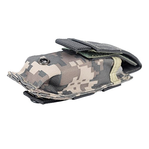 Sweetds Canvas Universal Multipurpose Tactical clutter Bag, Kompaktes EDC Pouch Utility Gadget Pouch Mud Color