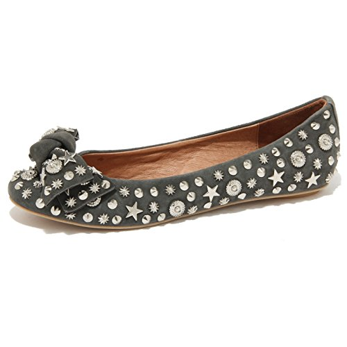 76199 ballerina JEFFREY CAMPBELL HALEY STARS VINTAGE BORCHIE scarpa donna shoes [40]