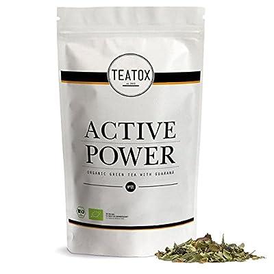 TEATOX Active Power, thé vert biologique avec guaraná