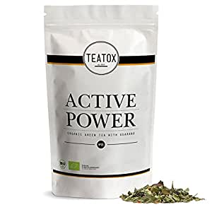 TEATOX Active Power, Bio Grüntee mit Guarana, Refill Beutel